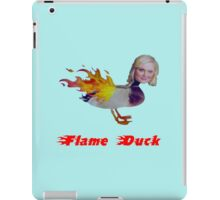 Parks and Recreation Flame Duck iPad Case/Skin