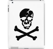 Skull Squadron (black skull) iPad Case/Skin