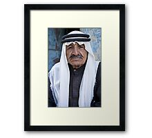 Old friend at Dana Village, Jordan Framed Print