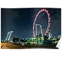 Singapore Flyer Poster