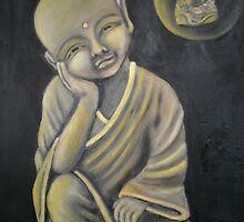Contemplation by Rhonda Joy   Harman