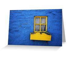 Kinsale Window Greeting Card