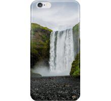 Skogafoss Waterfall Iceland iPhone Case/Skin