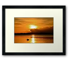Golden Morning.  15-4-11. Framed Print