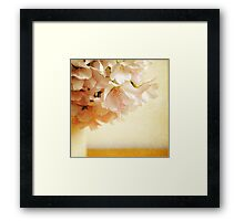 Be My Cherry Blossom Framed Print