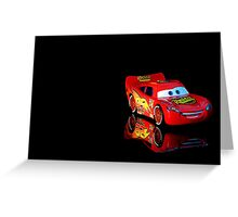 lightning mcqueen Greeting Card