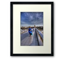 Blue Coat Framed Print