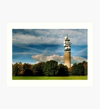 Heaton Park Tower Art Print