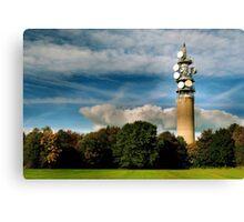 Heaton Park Tower Canvas Print