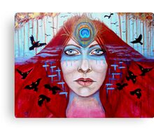 The Seer Canvas Print