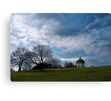 'the temple' Canvas Print