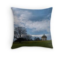 'the temple' Throw Pillow