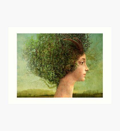 mystic tree Art Print