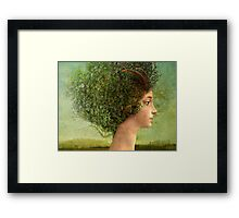 mystic tree Framed Print