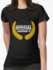 Official Selection 2011 Womens Fitted T-Shirt