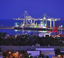 Townsville Port by Geoff Beck