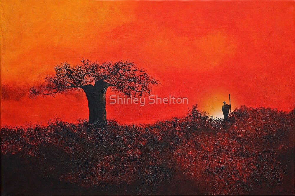 Serengeti Sky by Shirley Shelton