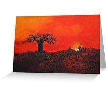 Serengeti Sky Greeting Card
