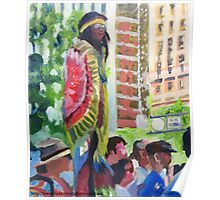 Gay Parade Observers (painting) Poster