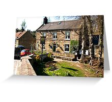 The Board Inn   -  Lealholm Greeting Card