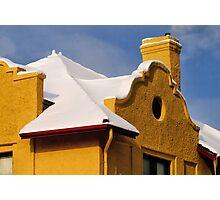 Adobe Snow Photographic Print