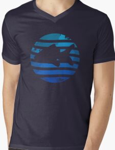 Love Fish - Grunge Mens V-Neck T-Shirt