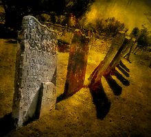 Gravestones & Shadows by Shirley Shelton
