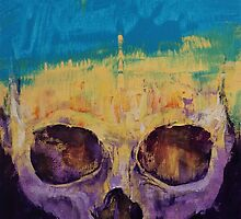 Grunge Skull by Michael Creese
