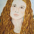 Agnes in Portrait by TriciaDanby