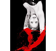 RED MISTRESS Photographic Print