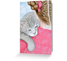 Cuddles! Greeting Card