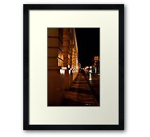 A Single Headlight  Framed Print