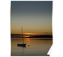 A Birch Bay sunset, Washington State Poster