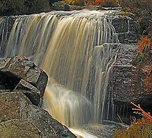 Hambleton Dyke Waterfall by WatscapePhoto