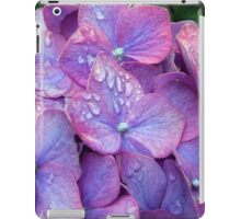Raindropped Hydrangeas  iPad Case/Skin