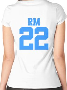 BTS/Bangtan Boys 'RM 22'  Women's Fitted Scoop T-Shirt
