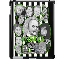 Beetlejuice collage iPad Case/Skin