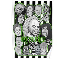 Beetlejuice collage Poster