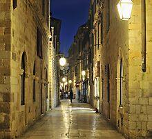 Dubrovnik Street by Kasia Nowak