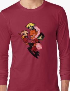 The RowdyRuff Boys and HIM Long Sleeve T-Shirt