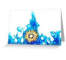 SnowFire (SnowStorm) Greeting Card