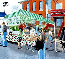 Farmer's Market by Yvonne Carter