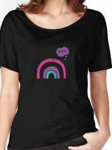 Goth Rainbow Women's Relaxed Fit T-Shirt
