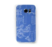 Mr. Handy Blueprint Samsung Galaxy Case/Skin