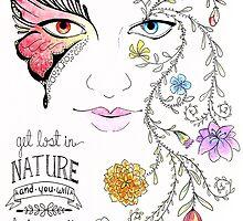Lost in Nature by Steffanie Mercier
