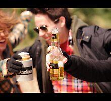 Beer Drinking by lightplay21