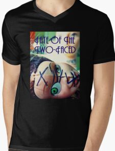 Fate of the Two-Faced Tee Mens V-Neck T-Shirt