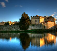 Evening Sun at Leeds Castle by Chris Thaxter