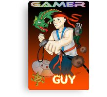 Gamer Guy Canvas Print