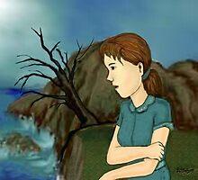 On the Rocks by DarkRubyMoon